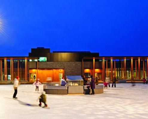 Prince Arthur's Landing, Water Garden Pavilion