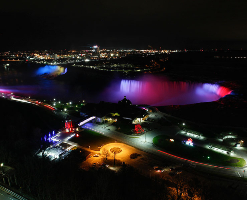 Daily Planet Documents Our Iconic Niagara Falls Illumination Project